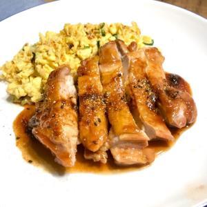 煮るより、焼くより、揚げる方が旨いと思うが☆敢えて煮てみた、鶏もも肉の照り煮♬
