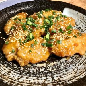 真っ当な料理ブログだから「南蛮酢あえ」改め、鶏手羽中のサッパリあえ♬