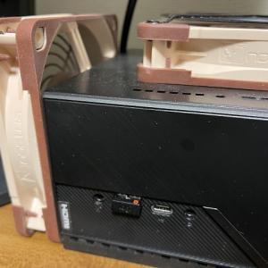 ASRock DeskMini H470 パソコン(第11世代Core i9搭載) を12cmFANで冷やす時は、ちょっとしたコツがあった話
