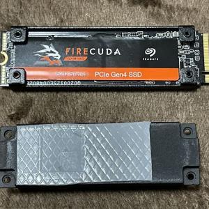 ASRock DeskMini H470のPCIe 3.0でSeagate FireCuda520 SSD(1800TBW)を動かしてみた話(第11世代Corei9パソコン)