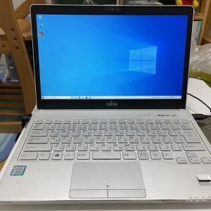 富士通ノートパソコンのHDDをSSDに交換してWindows10を新規インストールしたらSurface Laptopのようになった話(インストール編)