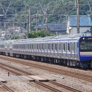 9月2日撮影 東海道線 大磯~二宮間 E235系1000番台、15連フル編成の試運転とその他もろもろを撮る