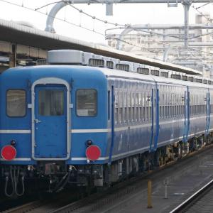 2月23日撮影 山陽線 加古川駅 DD51+12系客車5連の【網干訓練】復路を撮る