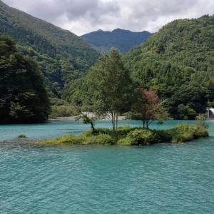 ゆるキャン△聖地巡礼②~奈良田湖周辺