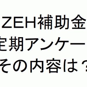 ZEHの補助金はもらって終わりじゃない?定期アンケートの内容とは?