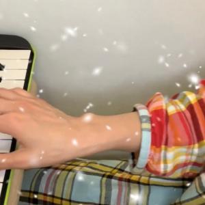 カタオモイ〜Aimer〜ミニ鍵盤で弾き語り♪