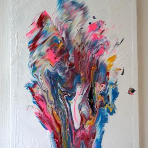 フルイドアートの先駆者って誰ですか? それは自分です。Moving Colors/Fluid Art/Pouring Art