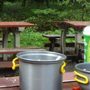 ④夏の涸沢フユッテ泊+キャンプ+車中泊=🎵気分はいつでも、夏休み!