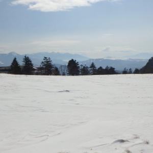 ② 美ヶ原でスノーシュー!冬の車中泊&宿泊!しっくはっく!