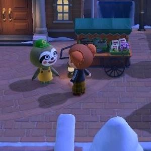 今年初のキャンプ客!