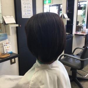縮毛矯正後のアフターカット