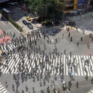 渋谷スクランブル交差点を英語で説明|混雑の様子を7つの例文で紹介