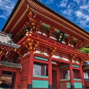 鶴岡八幡宮を英語で説明|鎌倉初代将軍源頼朝ゆかりの神社を紹介