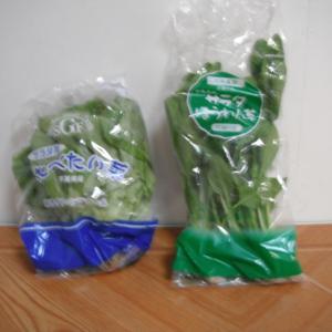 2つで68円(税抜き)コーナーの野菜を見つけました。