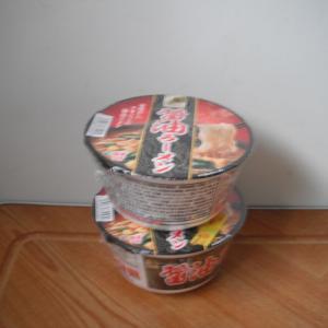 普通の醤油ラーメンも安かった。58円(税抜き50円)なら即買い!