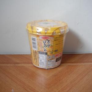 カップのスープ春雨が73.44円(税抜き68円)で売っていたので買ってみた。