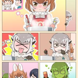 【けもフレ3】隊長さんのために料理をするドールちゃん漫画を描いたのだ!【漫画家隊長】