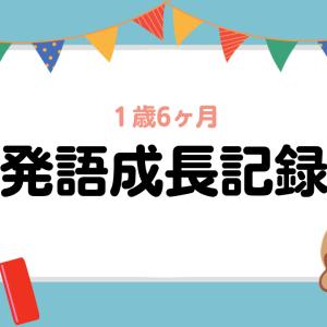 【成長記録】1歳6ヶ月の娘はどれくらい話す?