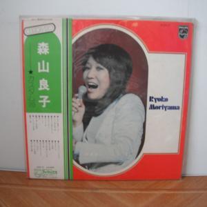 森山良子もフォーク世代の歌い手です。