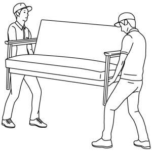 メルカリで家具を売る。~梱包・発送たのメル便の使い方~