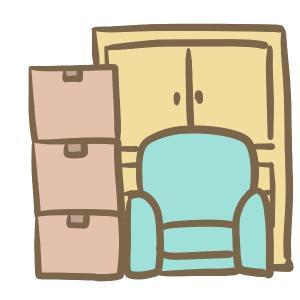 引越しに向けて荷物の整理。【一人暮らし】