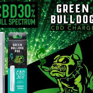 簡単使い捨てCBDポッド-GREEN BULLDOG