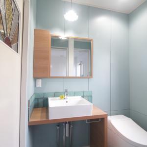 【家づくり】コンパクトなのに使い勝手のいい洗面台とオンリーワンの空間デザイン