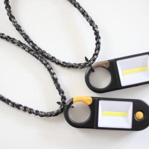 【防災グッズ・DIY】子供用に追加!100均アイテムをつかって非常用のネックライト作成