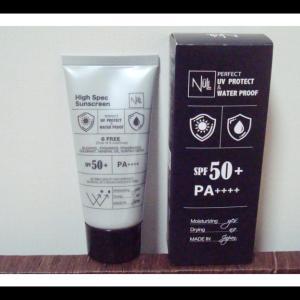 敏感肌でも使える6つの無添加の低刺激日焼け止めジェル NULL(ヌル)パーフェクトウォータープルーフ日やけ止めジェル