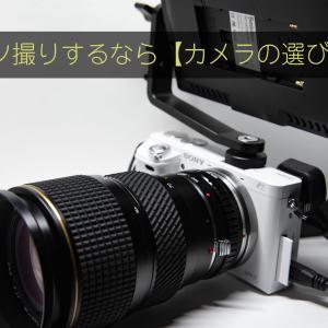 ブツ撮りするなら【カメラの選び方編】