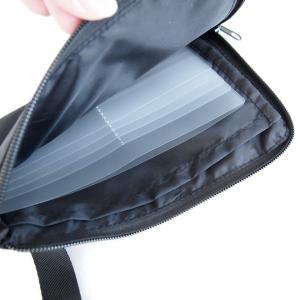 【収納アイデア】かさばる診察券やお薬手帳に、ダイソーのマスクポーチが使える!