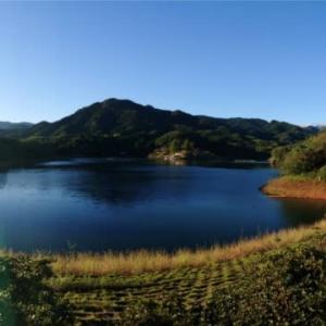台風一過の大塩湖🎵愛はかげろう🎵雅夢