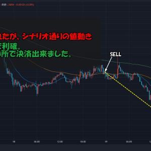 【トレード記録】2021.8.18 GBPUSD:Short(+82.0pips)