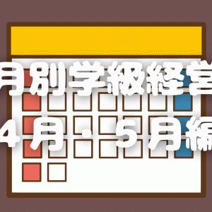 月別学級経営 ~4月・5月編~