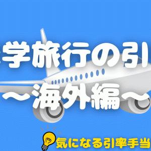 修学旅行の引率 〜海外編〜