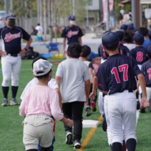 9月27日の少年野球体験会に参加頂きありがとうございました。