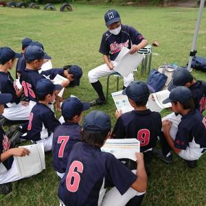森三少年野球チームとの練習試合。全員出場も惨敗。この経験が次につながるさ。