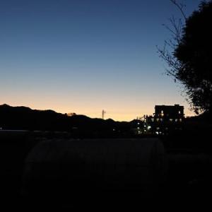 田舎暮らしの夜景2020.12.1