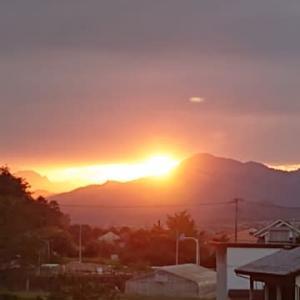 素晴らしい夕陽と苗植え I LOVE YOU(尾崎 豊)