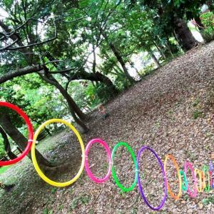 我孫子アートな散歩市 – L – かとうかづみ – 楽しげな森