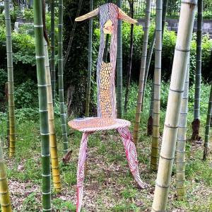 我孫子アートな散歩市 – J2 – マエノ マサキ – リーチ先生のアマビエ椅子