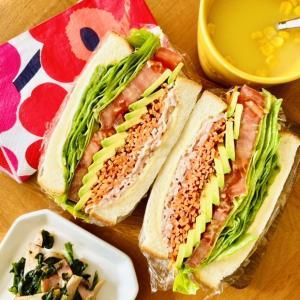 1人暮らしのOLが土曜日に作るサンドイッチ