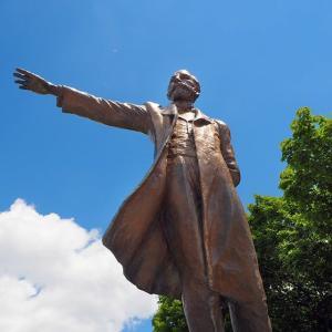 Statue of Dr. Clark☆羊ヶ丘展望台・Sapporo