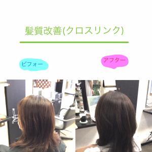 グレイカラー&髪質改善(クロスリンク)