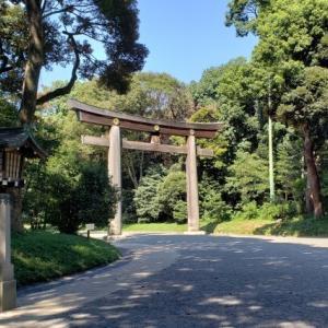 明治神宮の参道|南参道からの参拝ルートがお勧めです