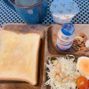 朝ランからの朝食は更に美味しい♪