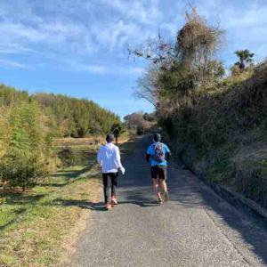 インターバル走&種松山へ。