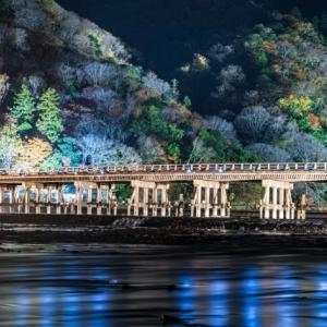 【京都の冬イベント】京都・嵐山花灯路-2020