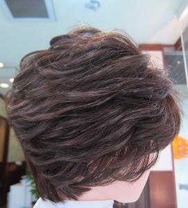 髪のお手入れ