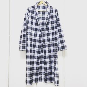 【すべて作れて着まわせるやさしい服】ローブコートを作りました&その後の感想